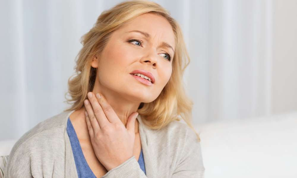 Shingles in Throat